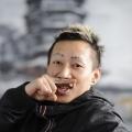 Zhou Yilun (painter) in his Hangzhou studio- brandeins