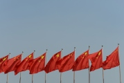 Hangzhou-Chinese National Flags