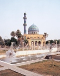 Baghdad, Mosque on Firdos Square, 6 months prior to 2nd Iraq War