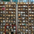 Rice Bowl Collection in Factory