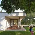 prespace Architects-Berlin-Haus M , Gartenansicht Sitzbereich