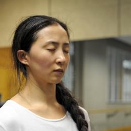Mrs Li Ling Xi-in a Shanghai dance studio- Rubato Dance Company- brandeins