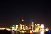 Shanghai Skyline 2011 blurr