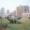 Shanghai, Dinosaur at Hongqiao compound