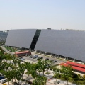 Suntech Wuxi, Office Building exterior, one of the biggest electricity producing facades