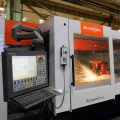 Truetzschler uses laser cutting machinery from Bystronic, Shanghai