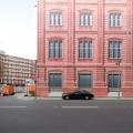 Fassade als Plane beim Berliner Forum