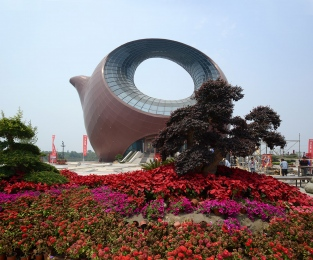 Wuxi- Tea Pot Exhibition Sales Center for property development