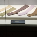 Maos birthplace museum-socks of Mao - Shaoshan in Hunan province- brandeins