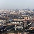Shanghai-Panorama seen from Hongqiao Airport