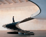 Braslia, interior staircase at the MInistry of Foreign Affairs