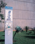 Brasilia, Street sign and town map