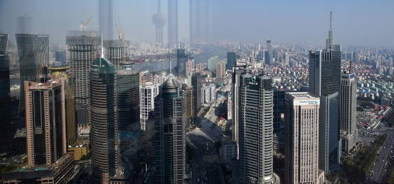 Shanghai Citypattern Lujiazui Panorama