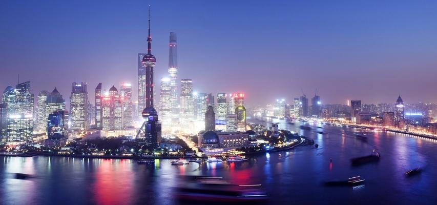 Shanghai-Panorama Vue Bar View towards Pudong