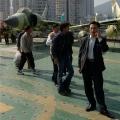 Shenzhen Aircraft Carrier Minsk, brandeins