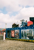 Chinese-Japanese war display at Show at the Duyun-international-photographic-festival, Duyun