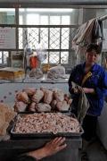 Beijing Meat Market Xinfadi, Sheep Head,  brandeins