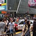 Hongkong Central- Pedestrian crossing