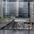 Hongkong Central Traffic and Walkways
