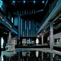 Glass Museum, architect Logon, interior, Shanghai Baoshan