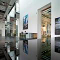 Glass Museum, architect Logon, entrance, Shanghai Baoshan
