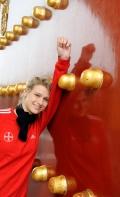 Britta Heidemann Olympic Fencing Champion 2008, Beijing, Temple of Heaven, Lufthansa Magazine
