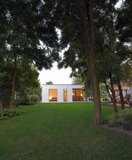 prespace Architects-Berlin-Haus M , Gartenansicht