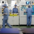 Suntech, Wuxi, Production Line Workers