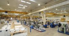 Factory main production hall,  Truetzschler Textile Machinery Shanghai Co., Ltd