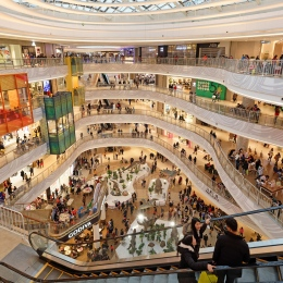 Shanghai Qibao Shopping Mall Interior, Vanke-ECE