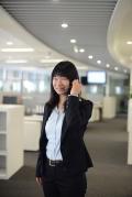 Mrs Li at Linde Head Office Shanghai