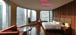 wallpaper city guide Shanghai, hotel room at andaz